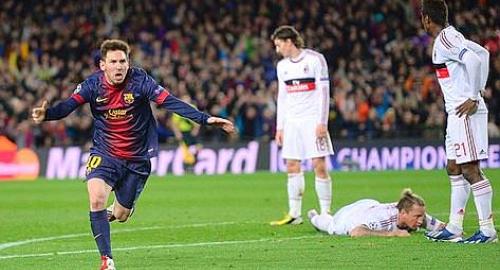 Barcelona-Milan 3-1